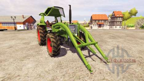 Fendt Favorit 4S FL v2.1 для Farming Simulator 2013