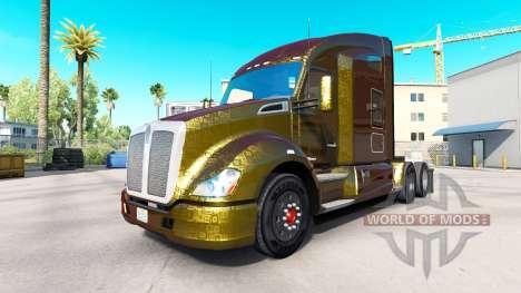 Скины на тягачи Peterbilt и Kenworth v0.0.1 для American Truck Simulator