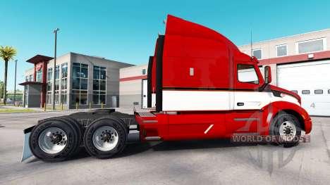 Винтажный скин на тягач Peterbilt для American Truck Simulator
