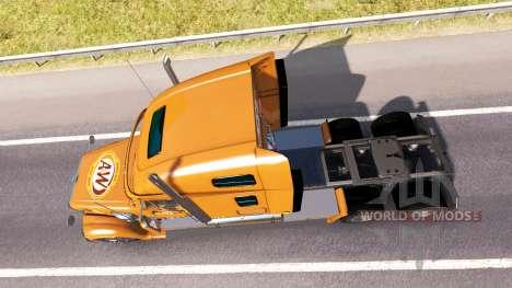 Скин A&W на тягач Freightliner Coronado для American Truck Simulator