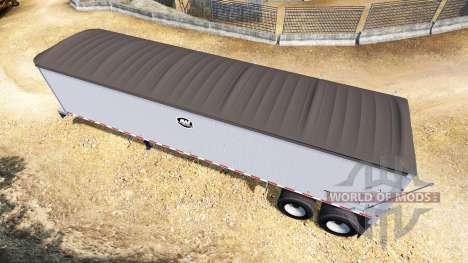 Полуприцеп-самосвал Mac Dumper для American Truck Simulator
