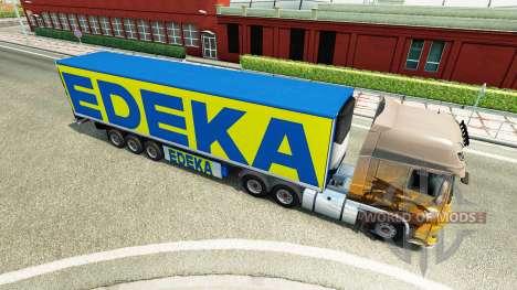Полуприцеп EDEKA для Euro Truck Simulator 2
