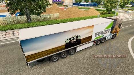 Полуприцеп Fendt для Euro Truck Simulator 2