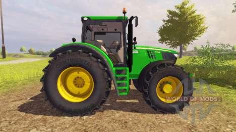John Deere 6210R v2.0 для Farming Simulator 2013