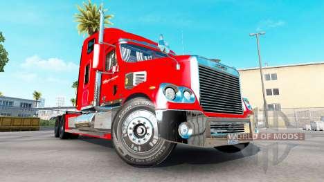 Скин Budweiser на тягач Freightliner Coronado для American Truck Simulator