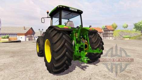 John Deere 8360R GW v2.0 для Farming Simulator 2013