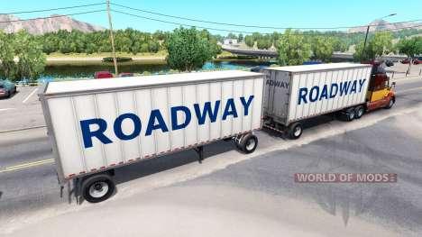 Полуприцеп с прицепом для American Truck Simulator