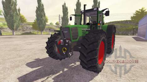 Fendt Favorit 824 Turbo v2.0 для Farming Simulator 2013