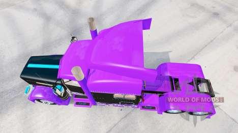 Скин Racing на тягач Peterbilt 389 для American Truck Simulator