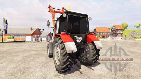МТЗ-1025 [погрузчик] для Farming Simulator 2013