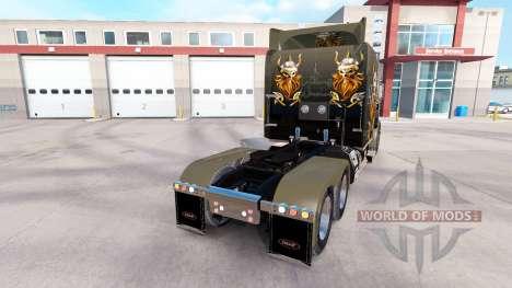 Скин Викинги на тягач Peterbilt 389 для American Truck Simulator