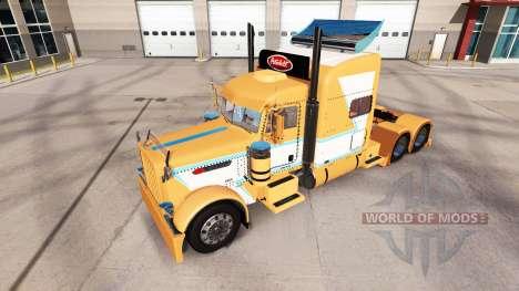 Скины на тягач Peterbilt 389 для American Truck Simulator