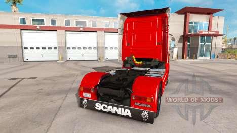 Scania 164L 580 v2.2.1 для American Truck Simulator