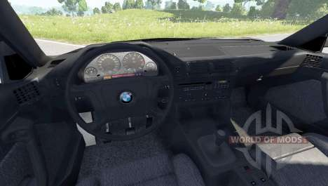 BMW 525 (E34) для BeamNG Drive