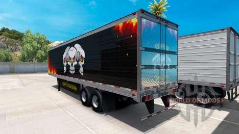 Рефрижераторный полуприцеп Reaper Trucking для American Truck Simulator