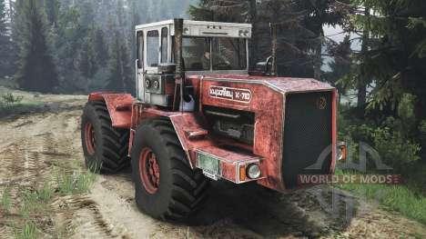 К-710 Кировец [25.12.15] для Spin Tires