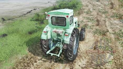 Т-40АМ [зелёный][03.03.16] для Spin Tires