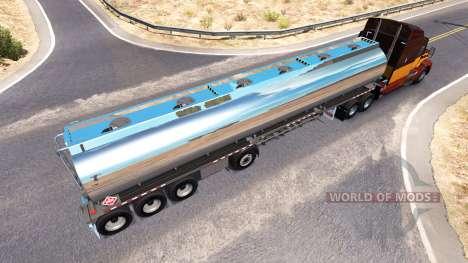 Полуприцеп хромированная цистерна Heil [4 axles] для American Truck Simulator