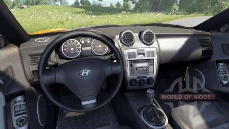 Hyundai Tiburon V6 Coupe 2003 для BeamNG Drive