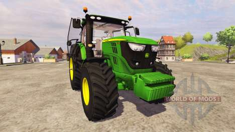 John Deere 6170R для Farming Simulator 2013