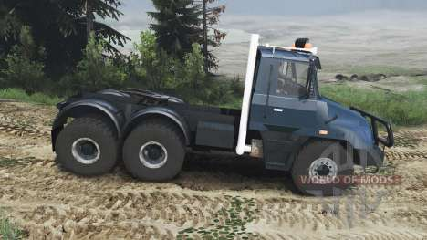Tatra 163 [25.12.15] для Spin Tires