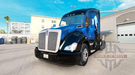 Скин Wolf на тягач Kenworth для American Truck Simulator