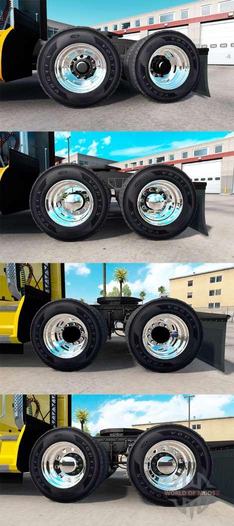 Колёсные диски Alcoa для American Truck Simulator