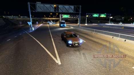 Ксеноновый свет фар для American Truck Simulator