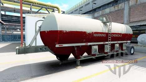Полуприцеп цистерна для American Truck Simulator