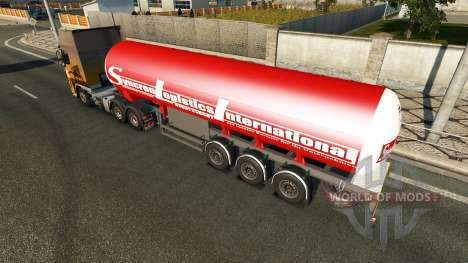 Полуприцеп Syncron Logistic International для Euro Truck Simulator 2