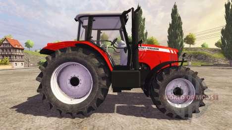 Massey Ferguson 5475 v2.1 для Farming Simulator 2013