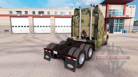 Камуфляжные скины на тягачи Peterbilt и Kenworth для American Truck Simulator