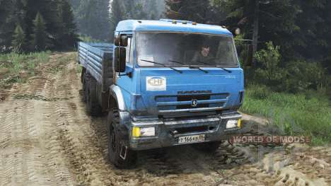 КамАЗ-44108 [25.12.15] для Spin Tires