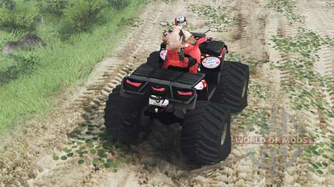 Can-Am Outlander 1000 XT [03.03.16] для Spin Tires