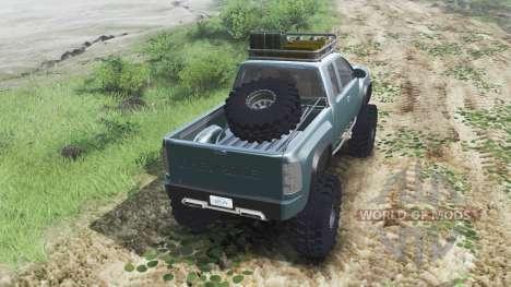 Chevrolet Silverado ZR2 2010 [03.03.16] для Spin Tires