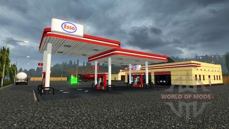 Европейские заправочные станции для Euro Truck Simulator 2