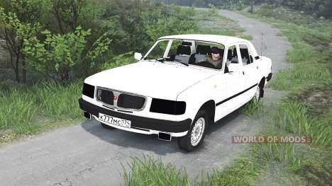 ГАЗ-3110 Волга [25.12.15] для Spin Tires