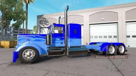 Kenworth W900A [custom] для American Truck Simulator