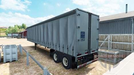 Полуприцеп шторный для American Truck Simulator