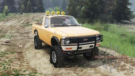 Chevrolet LUV 1979 [03.03.16] для Spin Tires