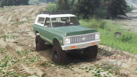 Chevrolet K5 Blazer 1975 [03.03.16] для Spin Tires