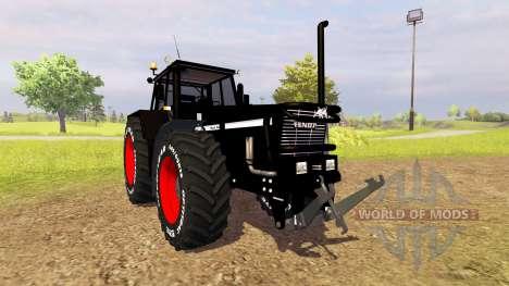 Fendt Favorit 622 LS [black bull] для Farming Simulator 2013