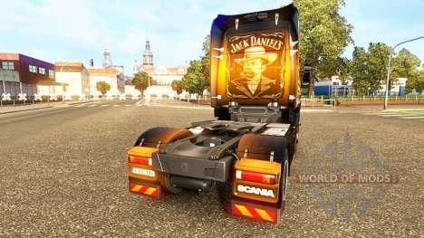 Скин Jack Daniels на тягач Scania для Euro Truck Simulator 2