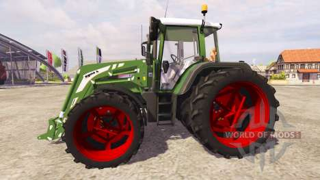 Fendt 312 Vario TMS v2.0 [red] для Farming Simulator 2013