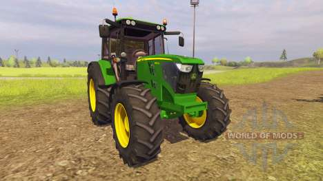 John Deere 6125M v2.0 для Farming Simulator 2013