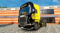 Скин BvB на тягач Scania