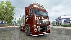 Скин FC St. Pauli на тягач Volvo