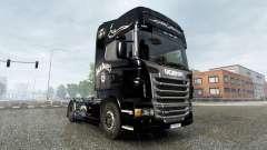 Скин Jack Daniels Birthday на тягач Scania