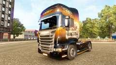 Скин Jack Daniels на тягач Scania