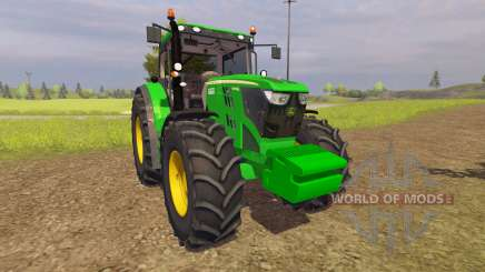 John Deere 6210R v2.0 для Farming Simulator 2013